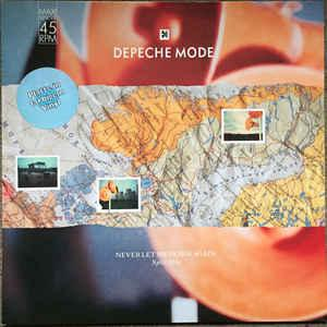 "DEPECHE MODE - NEVER LET ME DOWN AGAIN Orange vinyl (12"")"