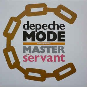 "DEPECHE MODE - MASTER AND SERVANT UK re-issue (12"")"