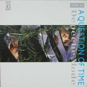 "DEPECHE MODE - A QUESTION OF TIME Rare German 1988 edition, ""Saturn"" label (12"")"
