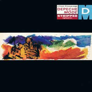 """DEPECHE MODE - STRIPPED UK re-issue (12"""")"""
