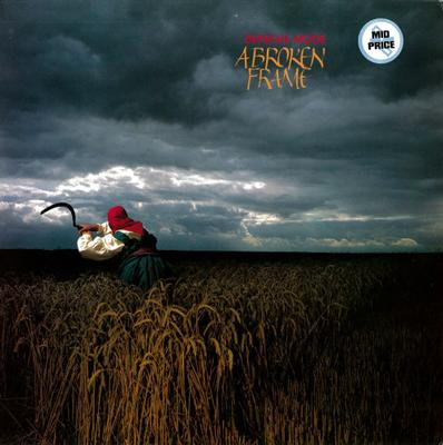 """DEPECHE MODE - A BROKEN FRAME Scarce UK """"Mid Price"""" re-issue w. barcode (LP)"""