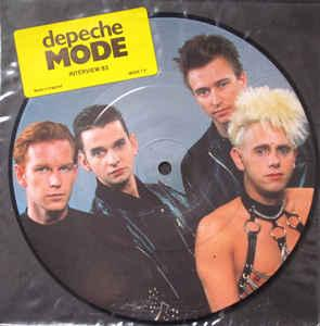 "DEPECHE MODE - INTERVIEW 83 Picture disc (7"")"