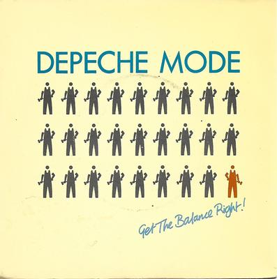 "DEPECHE MODE - GET THE BALANCE RIGHT UK (7"")"