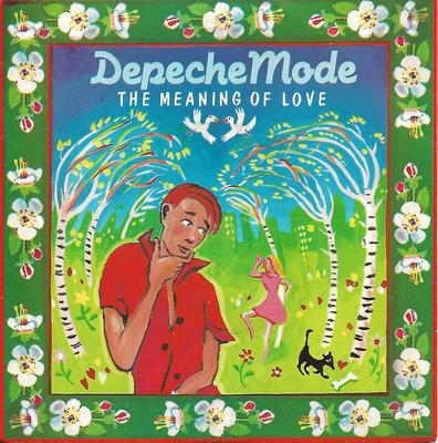 "DEPECHE MODE - THE MEANING OF LOVE UK glossy sleeve (7"")"