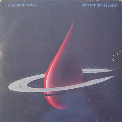 ADOLPHSON-FALK - MED RYMDEN I BLODET Classic synthpop album! (LP)