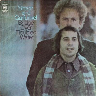 SIMON & GARFUNKEL - BRIDGE OVER TROUBLED WATER UK pressing (LP)