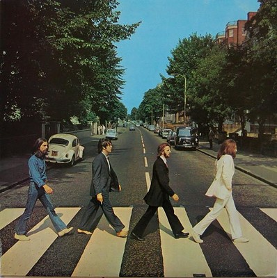 BEATLES, THE - ABBEY ROAD Swedish 1978 re-issue (LP)
