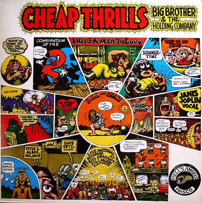 BIG BROTHER & THE HOLDING COMPANY - CHEAP THRILLS Dutch mid-80:s re-issue (LP)