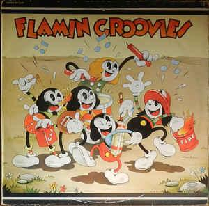 FLAMIN' GROOVIES, THE - SUPERSNAZZ Dutch re-issue (LP)
