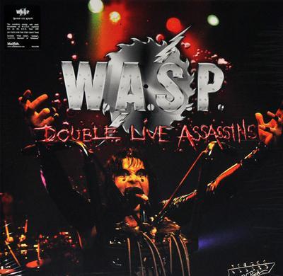 W.A.S.P. - DOUBLE LIVE ASSASIN (2LP)