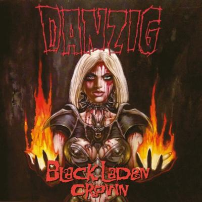 DANZIG - BLACK LADEN CROWN Clear Red vinyl, Gatefold sleeve, Lim ed. 1000. (LP)