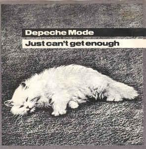 "DEPECHE MODE - JUST CAN'T GET ENOUGH Swedish, large centre (7"")"