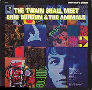 ERIC BURDON & THE ANIMALS - THE TWAIN SHALL MEET Scandinavian pressing (LP)