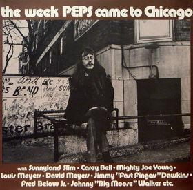PERSSON, PEPS - THE WEEK PEPS CAME TO CHICAGO Double-Lp, original 1972 , gatefold sleeve (2LP)