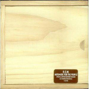 R.E.M. - AUTOMATIC FOR THE PEOPLE U.S. ltd edition wooden box, sealed! (CD)