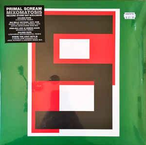 "PRIMAL SCREAM - MIXOMATOSIS - Green sleeve, RSD 2017 (12"")"