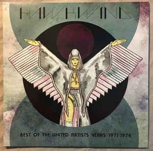HAWKWIND - BEST OF THE UNITED ARTISTS YEARS 1971-1974 (LP)