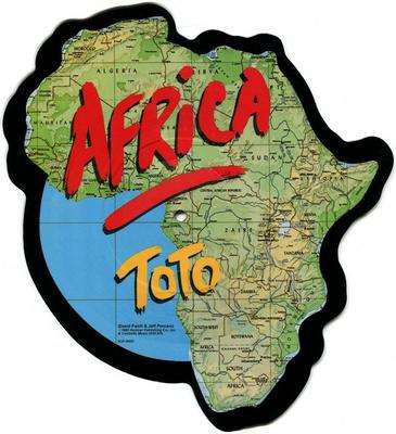 "TOTO - AFRICA Shaped Picture Disc. 2017 RSD exclusive (12"")"