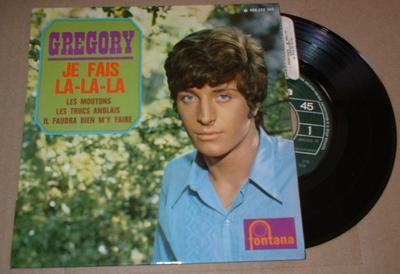 """KEN, GRÉGORY - JE FAIS LA-LA-LA French EP (7"""")"""