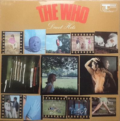 WHO, THE - DIRECT HITS UK Original Pressing With Laminated Sleeve (LP)
