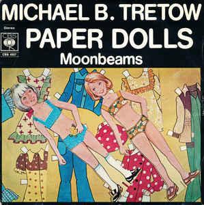 "TRETOW, MICHAEL B. - PAPER DOLLS Feat. all ABBA members + Ted Gärdestad! 1976 (7"")"