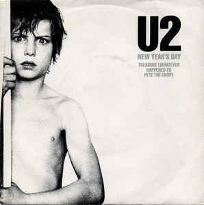 "U2 - NEW YEAR'S DAY Swedish ps (7"")"