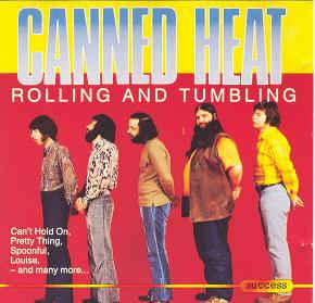 CANNED HEAT - ROLLING AND TUMBLING (LP)