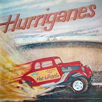 HURRIGANES - HOT WHEELS (SWE) (LP)