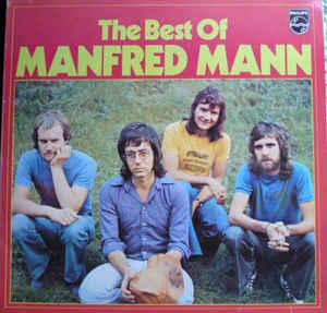 MANFRED MANN - THE BEST OF MANFRED MANN (GER) Club edition (LP)
