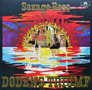 SAVAGE ROSE - DÖDENS TRIUMF (LP)