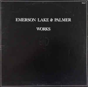 EMERSON, LAKE & PALMER - WORKS VOLUME I (UK) Double album (2LP)