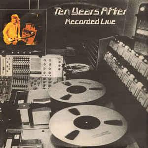 TEN YEARS AFTER - RECORDED LIVE (UK) Double album (2LP)