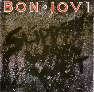 BON JOVI - SLIPPERY WHEN WET Dutch pressing (LP)