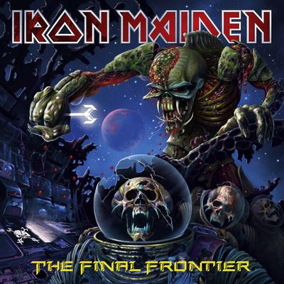 IRON MAIDEN - THE FINAL FRONTIER 180g 2017 reissue (2LP)