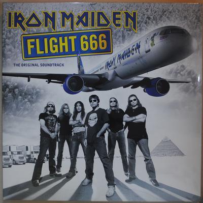 IRON MAIDEN - FLIGHT 666 180g 2017 reissue (2LP)