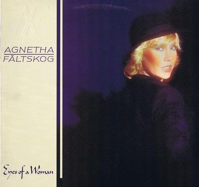 FÄLTSKOG, AGNETHA - EYES OF A WOMAN (1985) Red vinyl (LP)