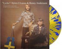 ULVAEUS, BJÖRN & Benny Andersson - LYCKA (1970) Blue & yellow vinyl (LP)
