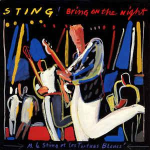 STING - BRING ON THE NIGHT (GER) Double album (2LP)