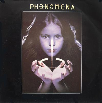 PHENOMENA - S/T German pressing, including booklet (LP)