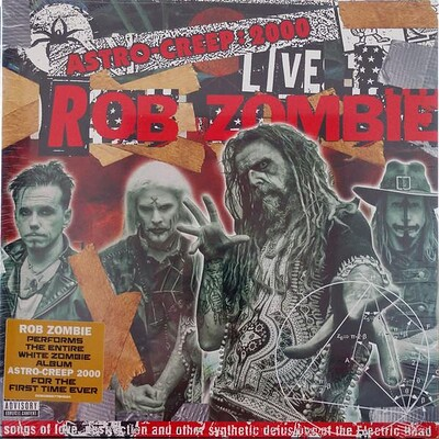 WHITE ZOMBIE - ASTRO-CREEP 2000: LIVE (LP)