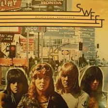 SWEET, THE - DESOLATION BOULEVARD (UK) 1989 re-issue (LP)