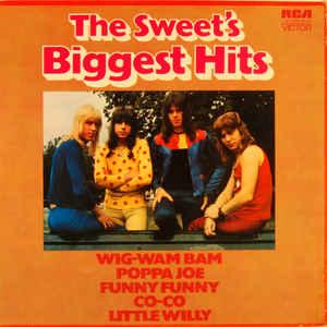 SWEET, THE - THE SWEET'S BIGGEST HITS German pressing (LP)