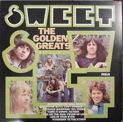 SWEET, THE - THE GOLDEN GREATS (UK) Original (LP)