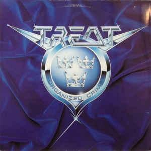 TREAT - ORGANIZED CRIME German, VG+ (LP)