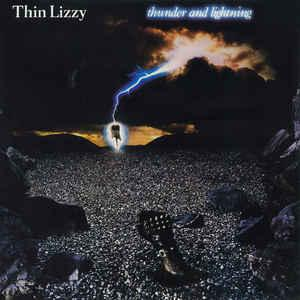 THIN LIZZY - THUNDER AND LIGHTNING (U.S.) (LP)