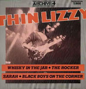 """THIN LIZZY - ARCHIVE 4 (UK) Limited edition maxi single (12"""")"""
