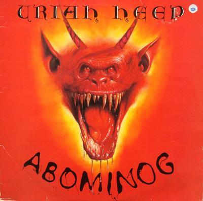 URIAH HEEP - ABOMINOG UK Reissue (LP)