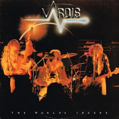 VARDIS - THE WORLD'S INSANE UK Pressing (LP)