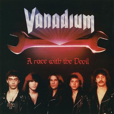 VANADIUM - A RACE WITH THE DEVIL Italian Pressing (LP)