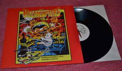 HELLACOPTERS, THE - RECORDED OCTOBER 13,2008 STOCKHOLM SWEDEN (LP)